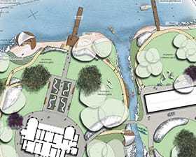 Projekt modernizacji parku zabytkowego: ogród pałacowy 2010. Nowe Warpno.