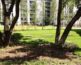 Projekt zagospodarowania osiedla – Zielony Żoliborz