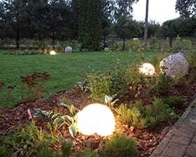 Koncepcja zagospodarowania ogrodu przydomowego: Głudna koło Grójca