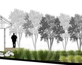 """Projekty ogrodów: """"zielone tarasy"""""""